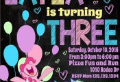 Love My Little Pony Invitation My Little Pony by easyhappyparty  easyhappyparty,...