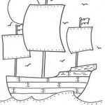 MAYFLOWER Coloring sheet
