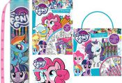 MY LITTLE PONY Activity Sets Colouring Sticker Art & Craft Play Xmas Girls Gift