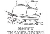 Mayflower Coloring Page | All Kids Network