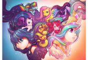 My Little Pony Art Print by Camilla d'Errico  art, Camilla, d39Errico, Pony, pri...