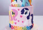 My Little Pony Cake – Julia Marie Cakes  cake, Cakes, Julia, Marie, Pony #cart...