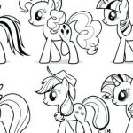 My Little Pony Coloring Book Pages My Little Pony Coloring Pages