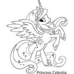 My Little Pony Coloring Pages – Princess celestia  Celestia, Coloring, Pages, ...