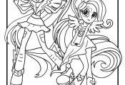 My Little Pony Coloring Pages Rainbow Dash Equestria Girls  Coloring, Dash, Eque...