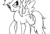 My Little Pony Coloring Pages Rainbow Dash - east-color.com/...