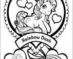 My Little Pony Coloring Pages free For Kids  Coloring, free, Kids, Pages, Pony #...