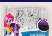 My Little Pony Colour Your Own Cushion Gift Set With Markers