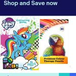 My Little Pony Colouring Book 48 Pages Childrens & 30 COLOURING PENCILS