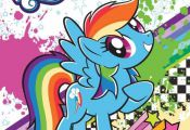 My Little Pony Colouring Book Kids activity B-dayXmas Gift Girls Party Item A4