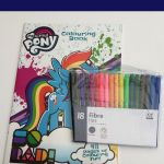 My Little Pony Colouring Book & Pack of 18 Felt Pens