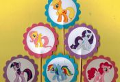 My Little Pony Cupcake Toppers Birthday Party by TopperoftheWorld, $9.00  Birthd...