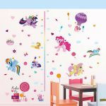 My Little Pony Cute Colorful kids room decal wall sticker