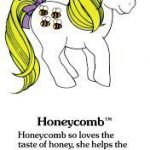 My Little Pony Fact File: Honeycomb  fact, file, Honeycomb, Pony #cartoon #color...