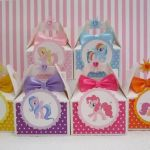My Little Pony Favor Boxes, Little Pony Favor Boxes, Little Pony Party, Little P...