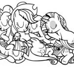 My Little Pony Friendship is Magic Coloring Page - Free ...