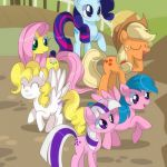 My Little Pony Friendship is Magic Fan Art: What's with these strange colors?  a...
