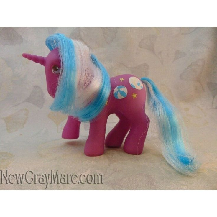 My-Little-Pony-G1-Beachball-beach-ball-sunshine-pony-change-color-unicorn-hair My Little Pony G1 Beachball beach ball sunshine pony change color unicorn hair #... Cartoon