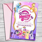 My Little Pony Invitation My Little Pony Invite My Little  Invitation, invite, P...