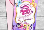 My Little Pony Invitation My Little Pony Invite My Little  Invitation, invite, P...