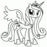 My Little Pony Princess Cadence Coloring Pages – GetColoringPages.com  cadence...