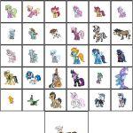 My Little Pony Series Version 2 by *Kevfin on deviantART  DeviantArt, Kevfin, Po...