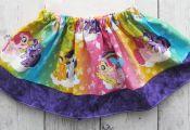 My Little Pony Skirt for baby girl - baby girl skirt, rainbow skirt, my little p...