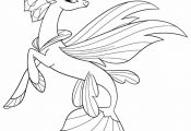My Little Pony The Movie Coloring Page Queen Novo Seapony