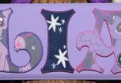 My Little Pony Twilight Sparkle Plaque - Customize Name, Colors and Characters
