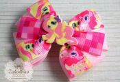 My Little Pony bow Unicorn hair bow My little pony party  bow, Hair, party, Pony...