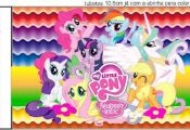 My Little Pony: free printables. Right click and save as (site is in spanish)  C...
