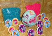 My Little Pony,Cupcake Kit,Rings,Sprinkles,Bake Cups,Decopac, Craft,Multi-Color