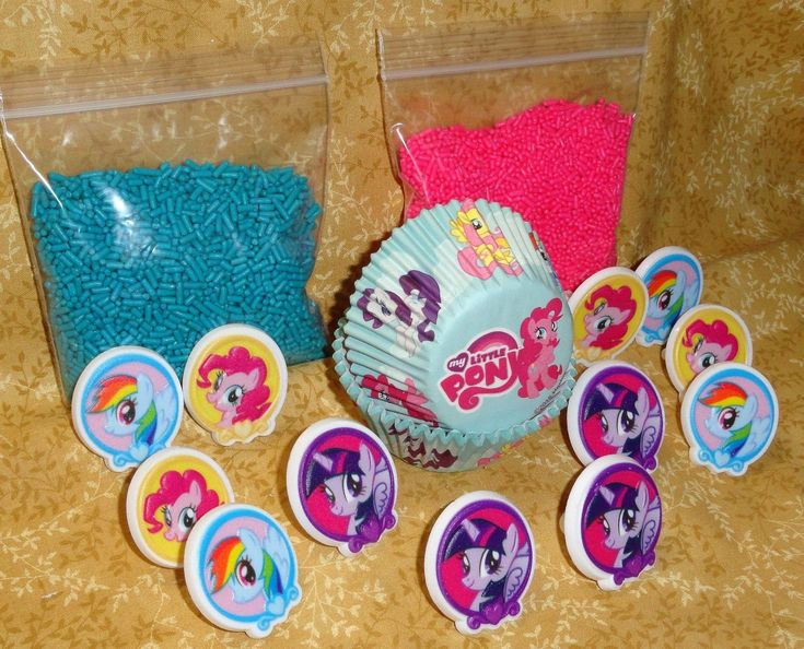 My-Little-PonyCupcake-KitRingsSprinklesBake-CupsDecopac-CraftMulti-Color My Little Pony,Cupcake Kit,Rings,Sprinkles,Bake Cups,Decopac, Craft,Multi-Color Cartoon
