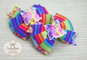 My little pony hair bow My little pony party by ZakolkinoCom  bow, Hair, party, ...