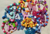NEW PONIES ADDED My Little Pony Raver Kandi Bracelet by vjgyo, $4.35  ADDED, Bra...
