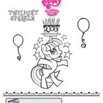 New My Little Pony coloring sheet… color in Twilight Sparkle.  color, Coloring...