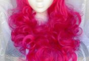 Pinkie Pie Wig MLP Costume Wig My Little Pony Cosplay Burlesque, Unicorn, Pink P...