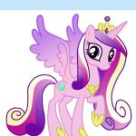 Princess Cadence My Little Pony Iron On Transfer 5x5 for LIGHT Colored Fabric