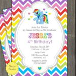 RAINBOW DASH MY LITTLE PONY INSPIRED BIRTHDAY INVITE  Birthday, Dash, Inspired, ...