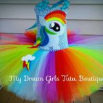 Rainbow Dash My little pony Halloween dress Rainbow Dash tutu | Etsy