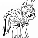 Rainbow Dash - My little pony coloring page for kids, for girls coloring pages p...