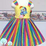 Rainbow My Little Pony – Equestria Inspired Twirl – Custom Dress – Bright ...