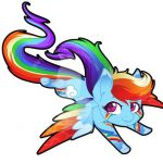 Rainbow dash rainbow power my little pony mlp  Dash, MLP, Pony, Power, Rainbow #...