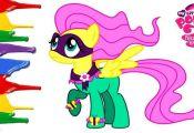 Super pony My little pony Fluttershy Super pony My little pony drawing  drawing,...