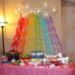 Swift Thinkin': Table Setup for a My Little Pony Party  party, Pony, Setup, Swif...