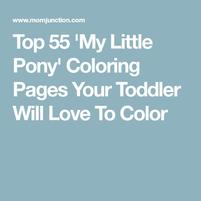 Top-55-39My-Little-Pony39-Coloring-Pages-Your-Toddler-Will-Love-To-Color Top 55 'My Little Pony' Coloring Pages Your Toddler Will Love To Color Cartoon