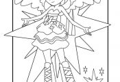 Twilight Sparkle From My Little Pony Equestria Girls Coloring Page Coloring, Equ...