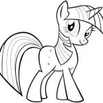 Twilight Sparkle My Little Pony Friendship Is Magic Coloring Pages  Coloring, Fr...