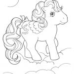 Vintage My Little Pony  Pony, Vintage #cartoon #coloring #pages