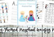 Your little FROZEN fans will love this free Frozen printable pack for preschool ...